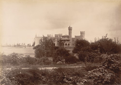 [Distant view of the Palace at Bangalore from the grounds.]